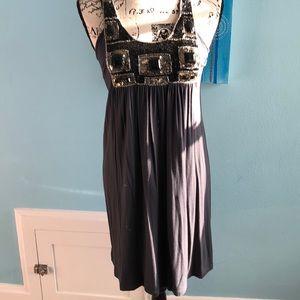 Adorable Unyx beaded shift dress.
